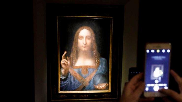 Quadro de Leonardo Da Vinci vendido por valor recorde vai para Museu do Louvre em Abu Dhabi