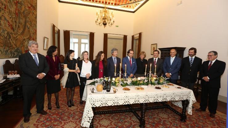 Presidente da ALRAM recebeu cumprimentos de Natal do presidente do Governo e secretários