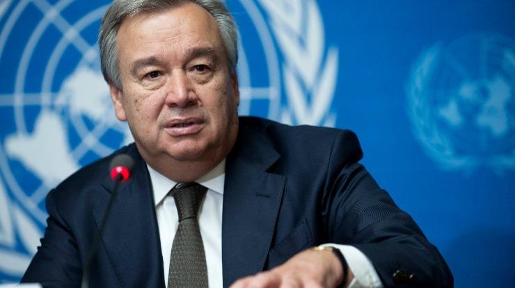 António Guterres lamenta mortes nas manifestações no Irão