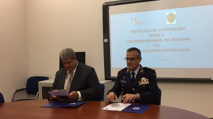 Equipa de proteção e socorro da GNR na Madeira  terá o dobro dos elementos
