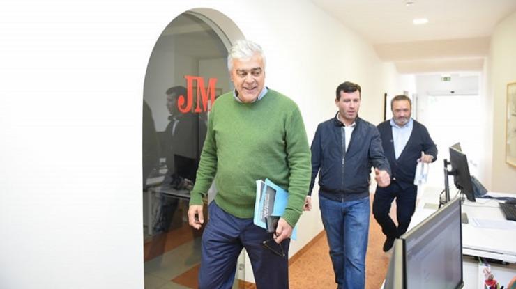 Emanuel Câmara já se encontra no JM para ser entrevistado
