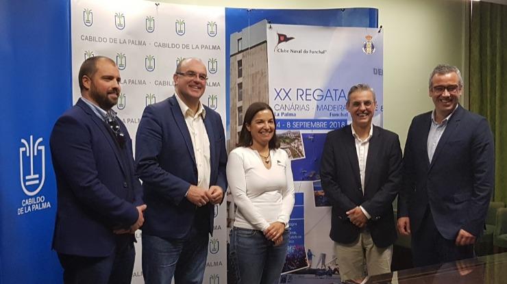 XX Regata Internacional Canárias apresentada em Santa Cruz de La Palma