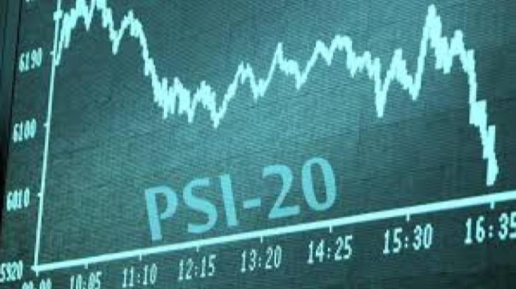 PSI20 cai 1,46% em linha com praças europeias