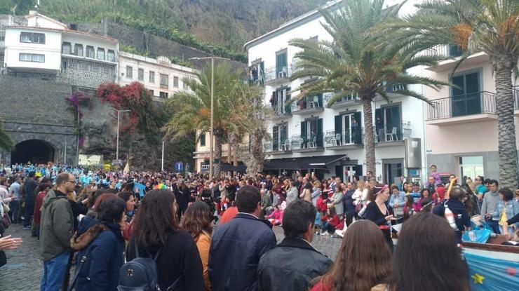 Carnaval anima vila da Ponta do Sol (vídeo)
