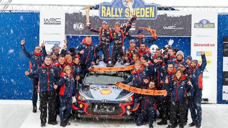 Belga Thierry Neuville vence Rali da Suécia e lidera mundial