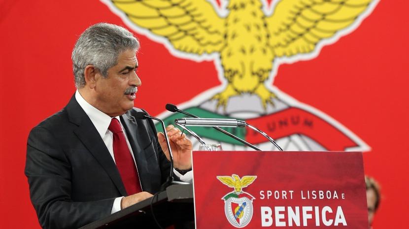 """Luís Filipe Vieira diz que """"acabou a paródia"""" e pede justiça """"célere"""" e igual para todos"""