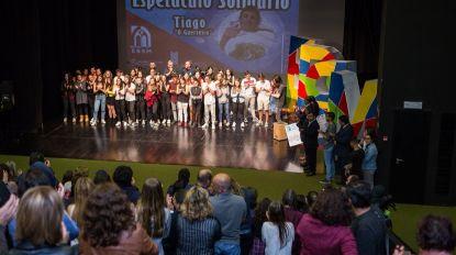 Mais de quatro mil euros angariados em espetáculo solidário 'Tiago, o Guerreiro'
