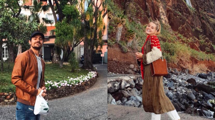Kelly Bailey e Lourenço Ortigão passam fim de semana na Madeira