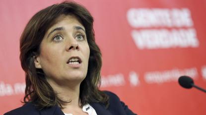 """Catarina Martins pede moratória sobre despejos para """"parlamento se levar a sério"""""""