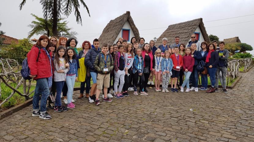 Escola da Lombada, Ponta do Sol, recebeu segunda mobilidade Erasmus+