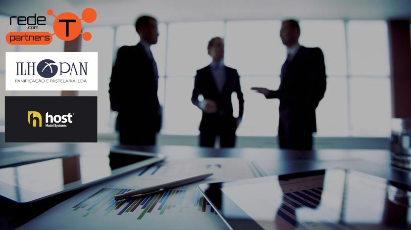 Ilhopan e Host renovam parceria com Rede-T