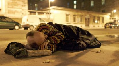 """""""Dezenas significativas"""" de sem-abrigo com alojamento"""