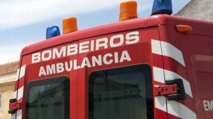 Motociclista ferido em acidente em Santo António