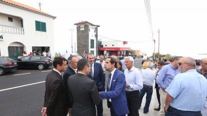 """Teles enaltece """"cooperação"""" da população na beneficiação da estrada da Estrela"""