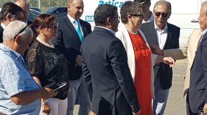 Ministra do Mar em Portimão para receber o ferry