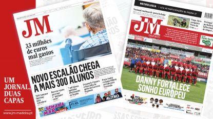 JM-Edição Impressa: Novo escalão chega a mais 300 alunos - Desporto: Danny fortalece sonho europeu do Marítimo