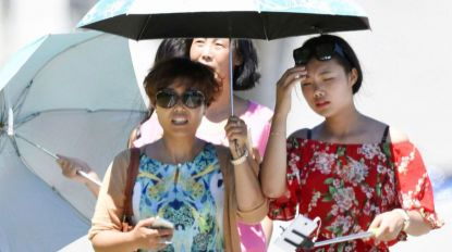 Temperaturas recorde no Japão com onda de calor mortal