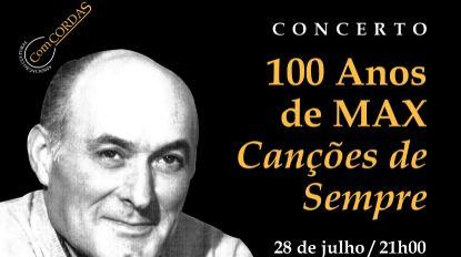 Associação Cultural ComCORDAS promove espetáculo de homenagem a Max dia 28