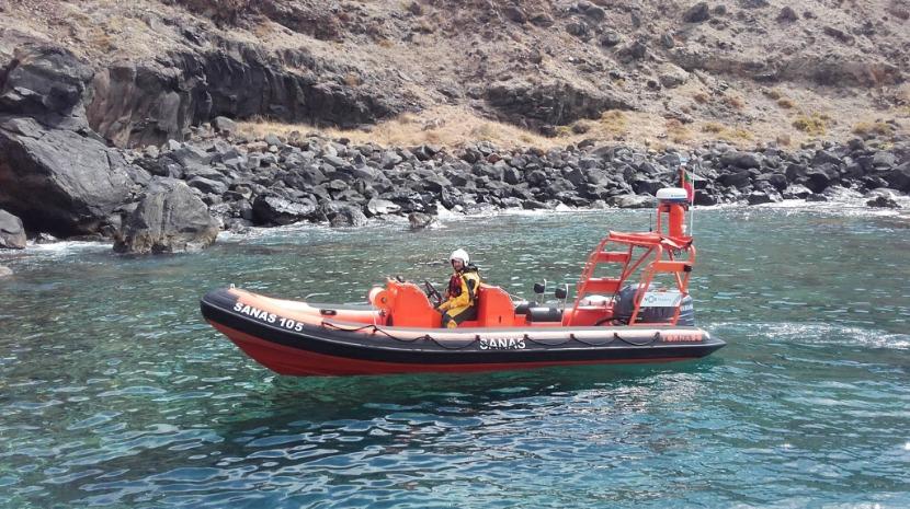 Turista resgatada no Cais do Sardinha
