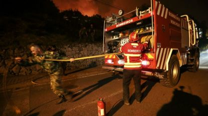 Unidade hoteleira evacuada nas proximidades de Monchique durante a noite