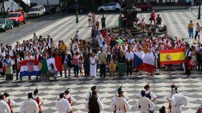 Festival internacional de folclore MonteVerde começou na Praça do Município