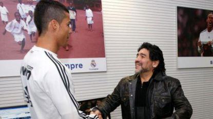Cristiano Ronaldo e Maradona recebem estátuas em Goa