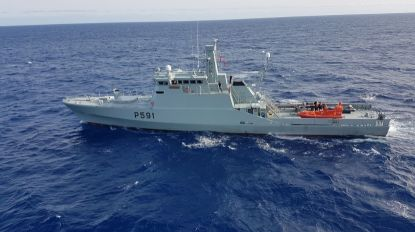 """Navio-patrulha """"Douro"""" partiu hoje para operação no Mediterrâneo"""