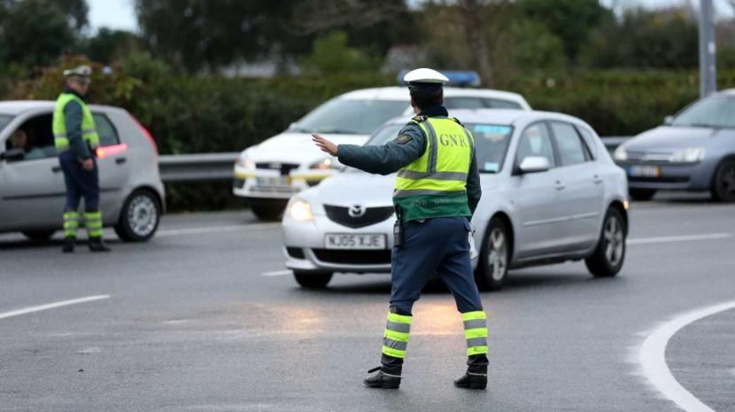 GNR detém 414 pessoas numa semana, 164 a conduzir com excesso de álcool