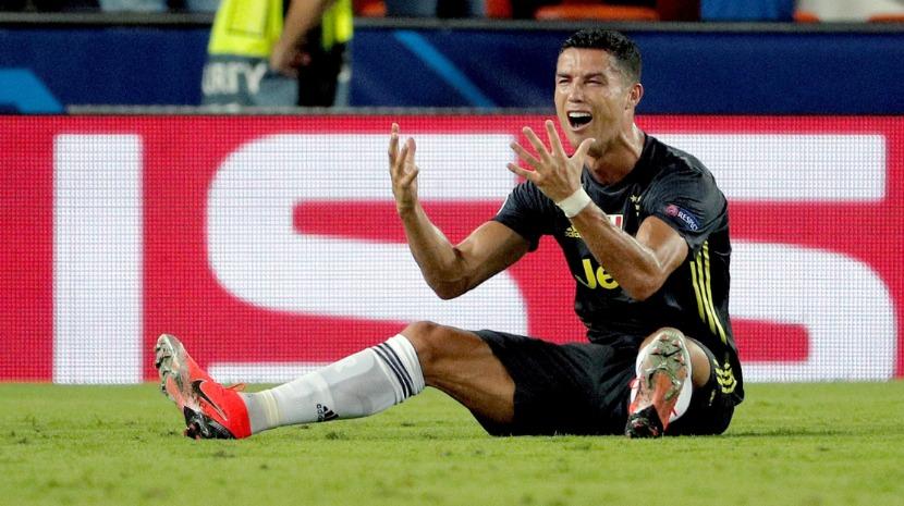 Resultado de imagem para Cristiano Ronaldo conhece castigo da UEFA na próxima semana