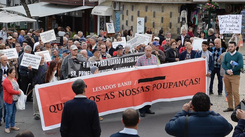Lesados do Banif aproveitam vinda de Marcelo à Madeira para promover nova manifestação