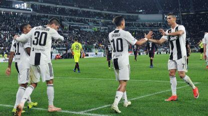 Juventus vence com CR7 'em branco'