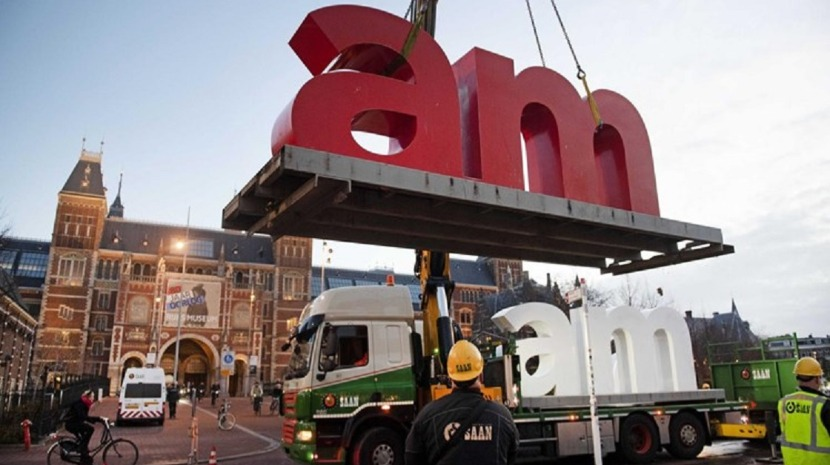 Famoso símbolo 'I Amsterdam' retirado na Holanda