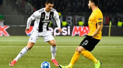 Young Boys surpreende Juventus com CR7 a titular