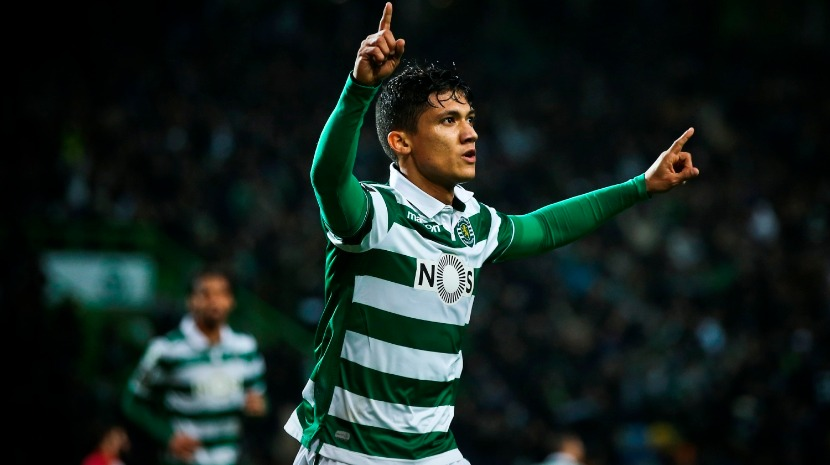 Montero ausente do treino do Sporting devido a traumatismo no tornozelo