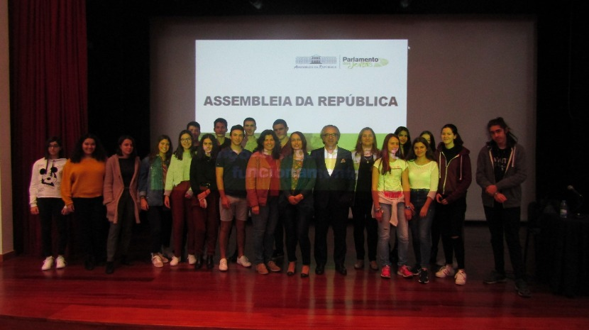 Luís Vilhena em debate sobre Aquecimento Global na Escola da Ponta do Sol