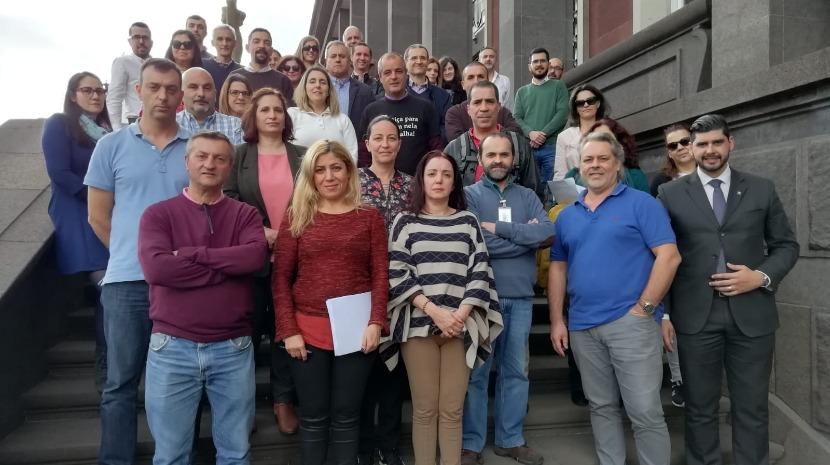 Funcionários da Comarca da Madeira reforçam reivindicações no dia da abertura do Ano Judicial