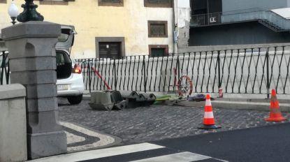 Após impasses e acidentes, semáforos na Ponte Nova estão a ser instalados