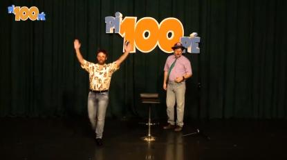 Foi assim que os 4Litro atuaram no espetáculo de Fernando Rocha