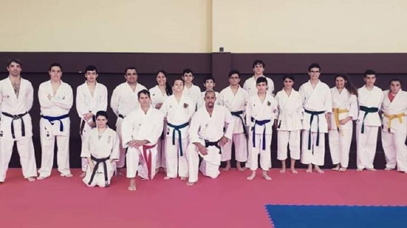 Campeão mundial de karaté Nuno Dias esteve em São Roque