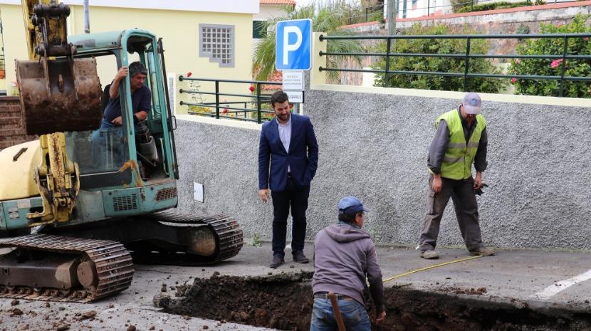 Câmara do Funchal moderniza redes de água com mais de 50 anos em São Roque