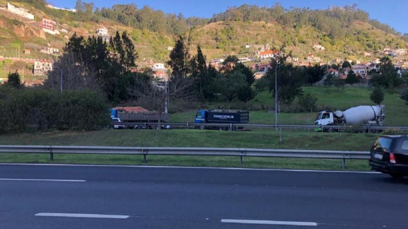PSP fiscaliza camionistas na Quinta Grande