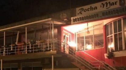 Homenagem no restaurante Rocha Mar provoca incêndio