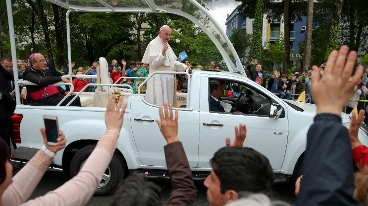 Papa: TAP com dois aviões em Monte Real preparados para transportar Francisco