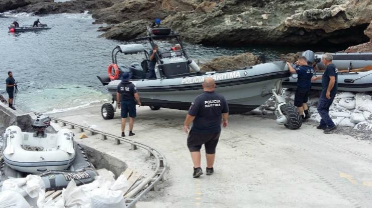 Nova embarcação anfíbia a operar ao serviço da Polícia Marítima nas Selvagens