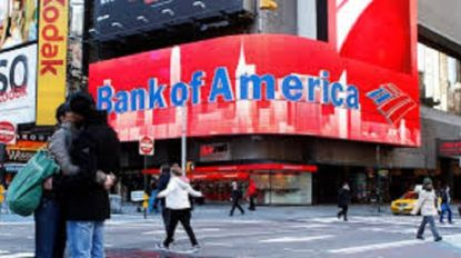 Lucro do Bank of America sobe 5,7% para 6,47 mil ME no 1.º trimestre
