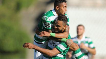 Sporting aplica 'goleada das antigas' ao Belenenses