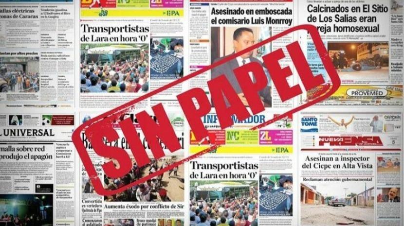 Venezuela: Jornal centenário Panorama circulou pela última vez por falta de papel para imprimir