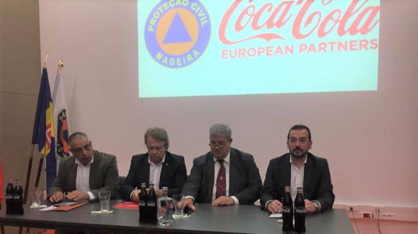 Coca-Cola e Proteção Civil assinam protocolo