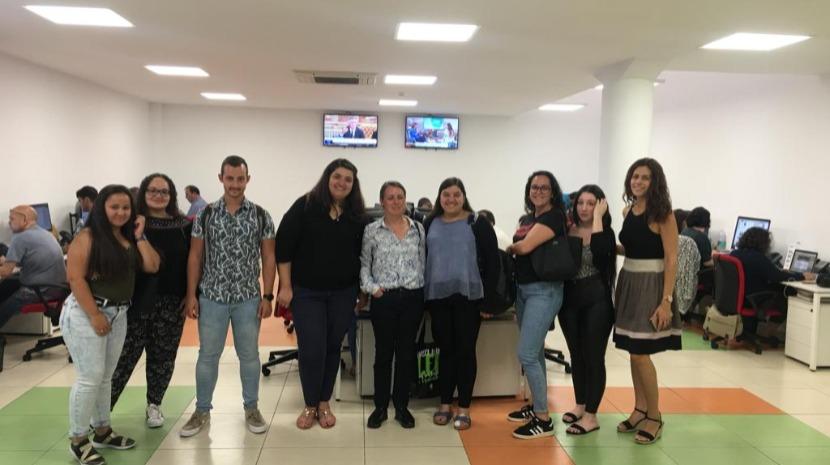 Alunos da Escola Profissional Cristóvão Colombo visitam JM