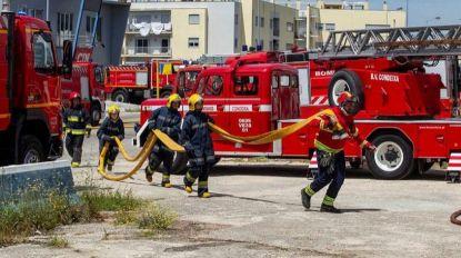 Quatro feridos em incêndio em fábrica de bicicletas em Aveiro